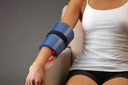 Celluma light therapy elbow application